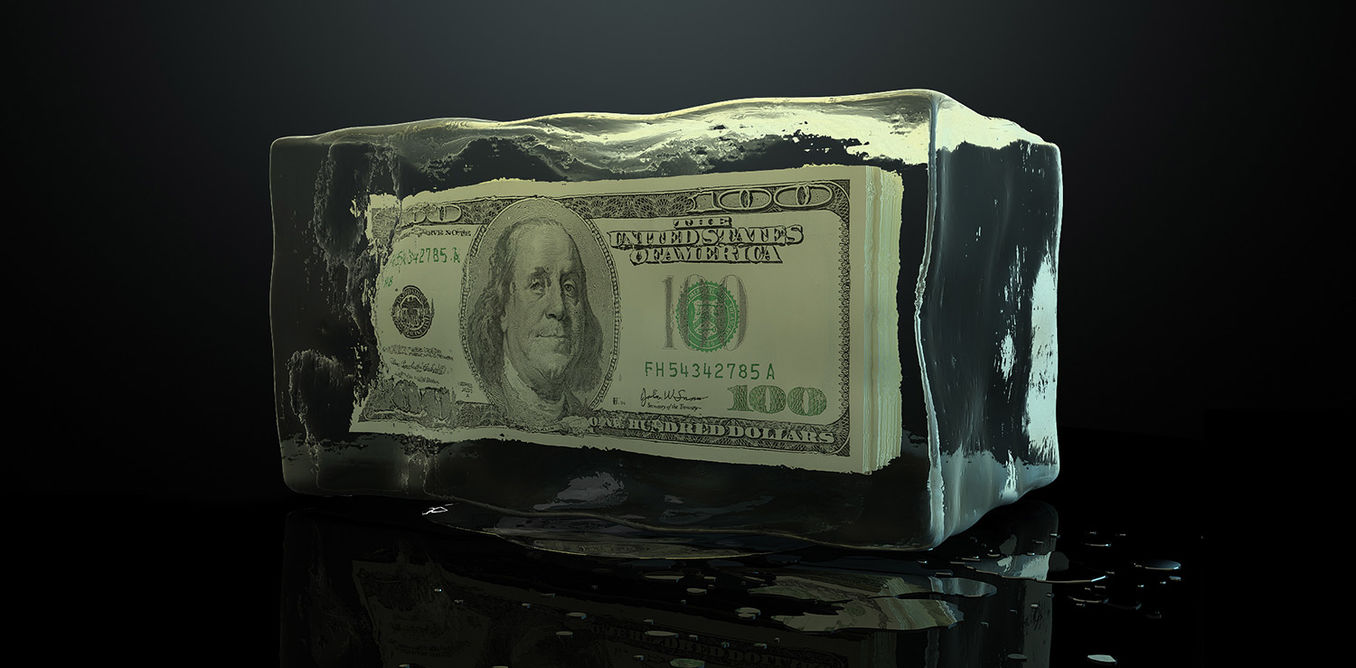 Image result for freezing bank funds